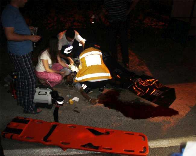 Otomobilin Çarptığı Adam Öldü