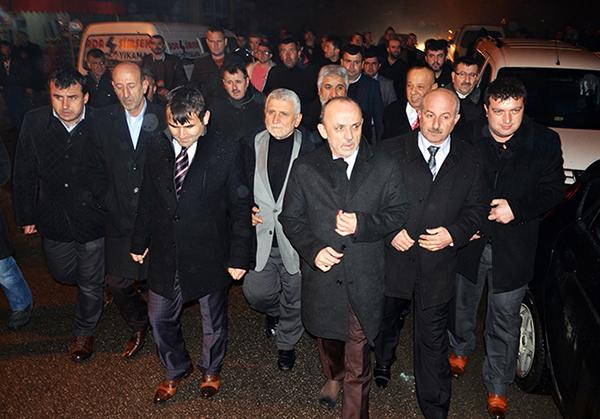 Hacıoğlunda Başkan Öztürke tam destek