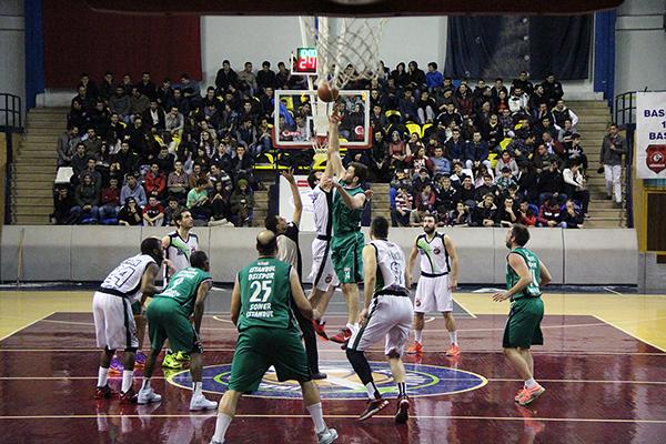 Büyükşehir Basket galip geldi: 77-64