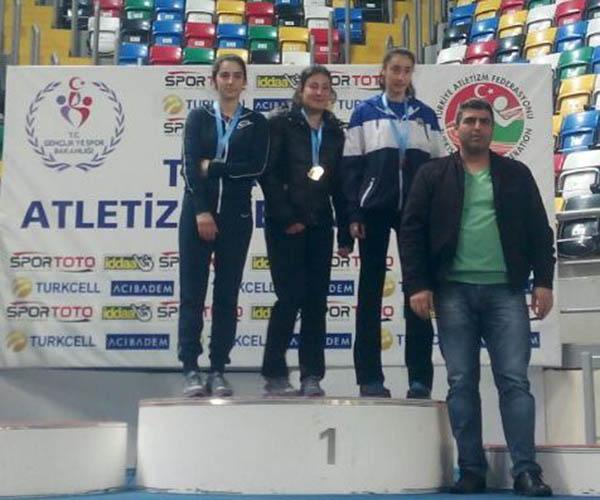 Atletizmde 5 Madalya kazandık