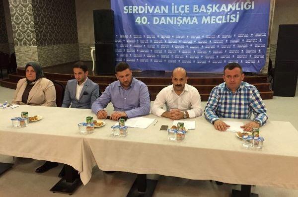 AK Parti Serdivan İlçe Danışma yapıldı