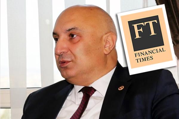 Engin Özkoç Financial Timese konuştu!