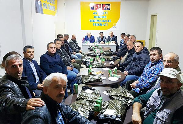 AK Parti Hendekten istişare toplantısı