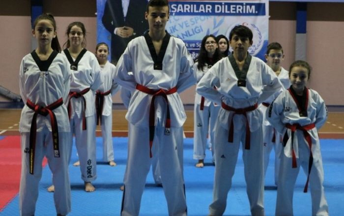 Taekwondocuların siyah kuşak zamanı