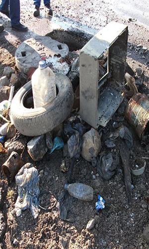 Kanalizasyon çöp değildir