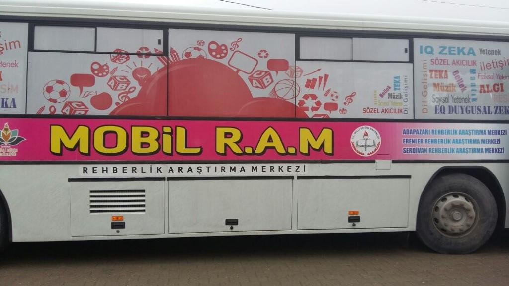 Mobil RAM Otobüsü İlk Seferine Çıktı
