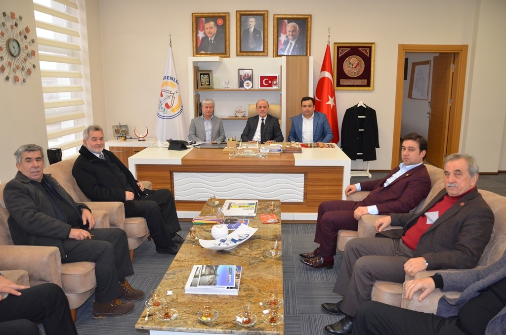SYKD'den Başkan Öztürk'e ziyaret