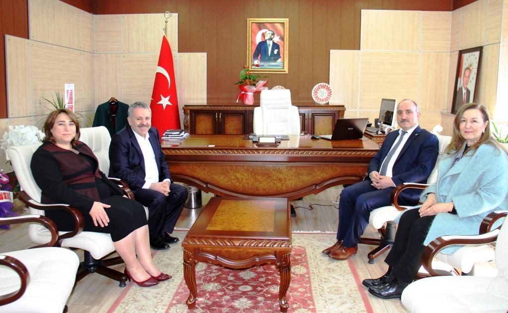 """AK Partiden Töre'ye """"Hayırlı Olsun"""" Ziyareti"""