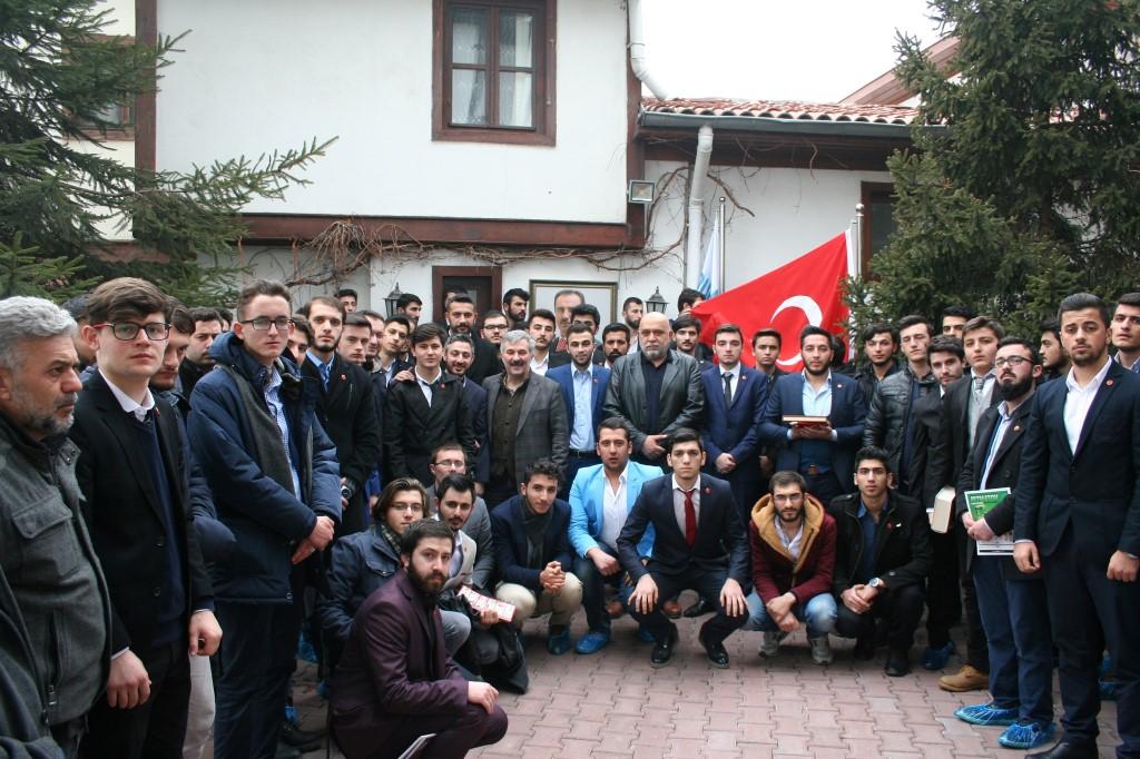 MBD üniversite teşkilatından Ankara çıkarması