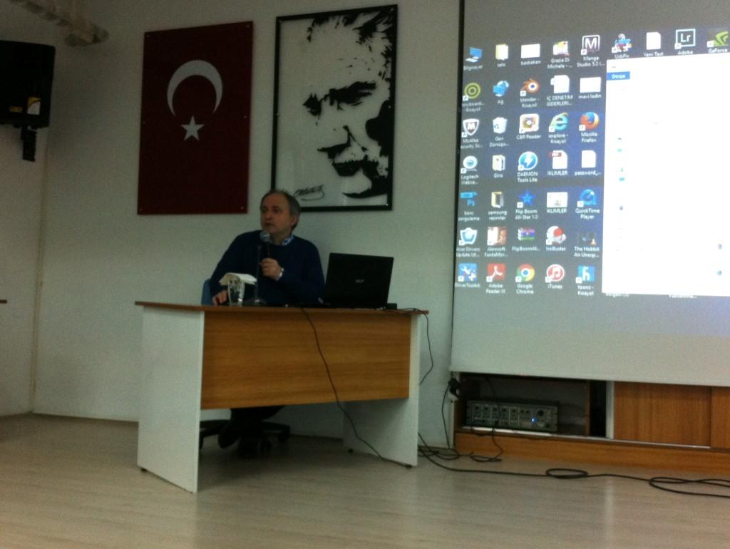 TES-İŞ Adapazarı Anadolu Lisesi'nde Animasyon Sineması Konuşuldu