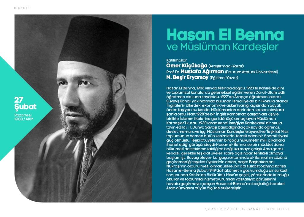 Hasan El Benna konuşulacak