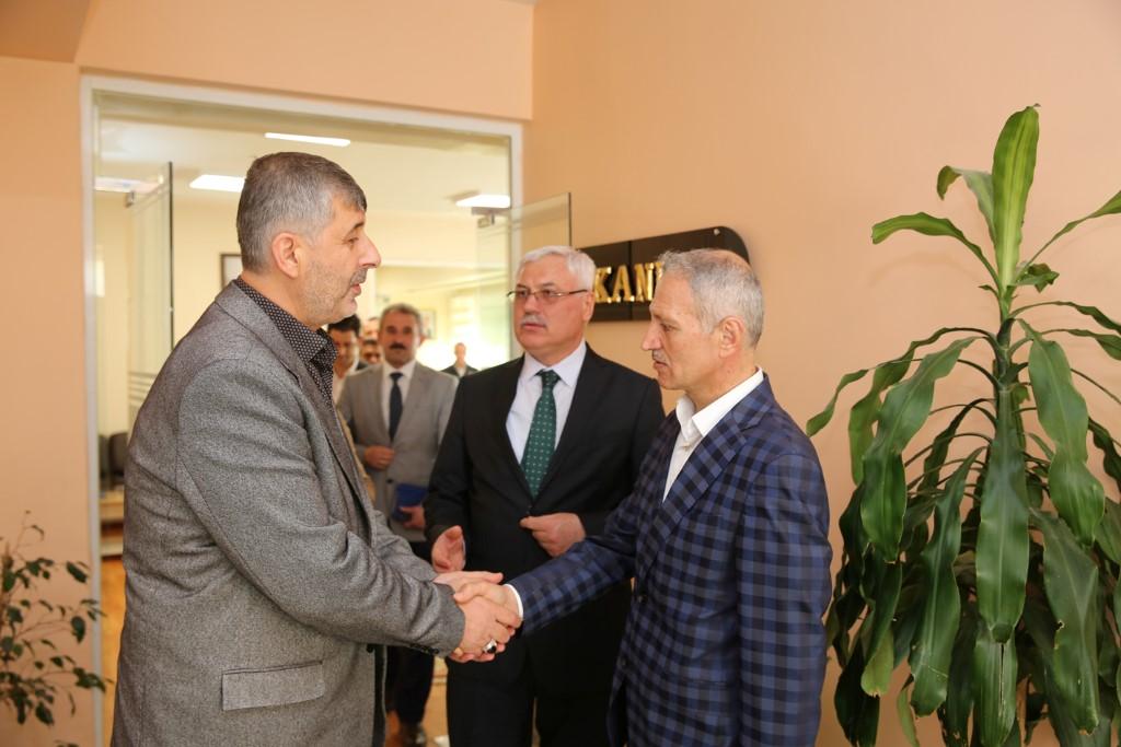 Susurluk Belediye Başkanı Hızlıoğlu'ndan Başkan Dişli'ye ziyaret