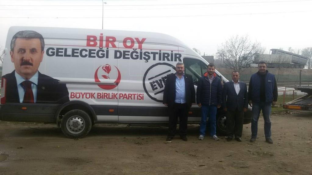 BBP Sakarya referandum için start verdi