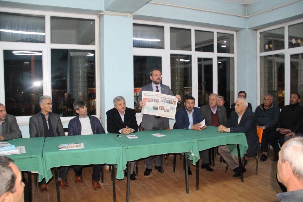 Milletvekili Recep Uncuoğlu'ndan Ferizli'ye 'Evet' Ziyareti