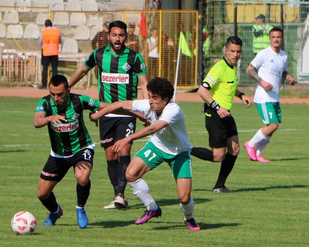 Sakaryaspor 1-1 Play-Off'a gidiyor