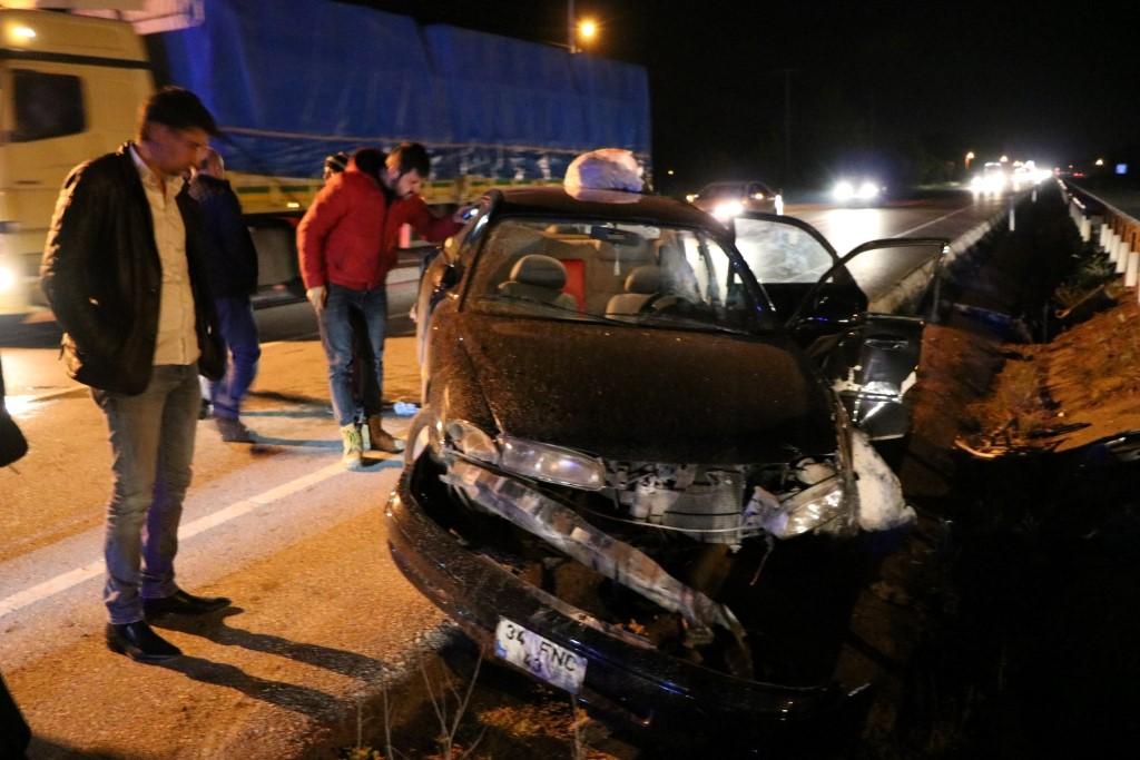 Erenler'de trafik kazası: 9 yaralı