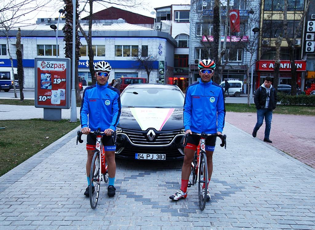 Büyükşehir'in bisikletçileri Romanya'da