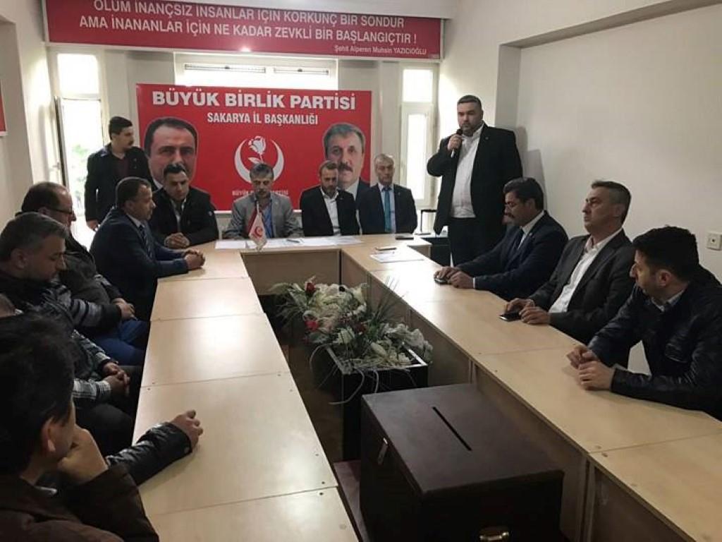 BBP Erenler ilçe kongresi yapıldı