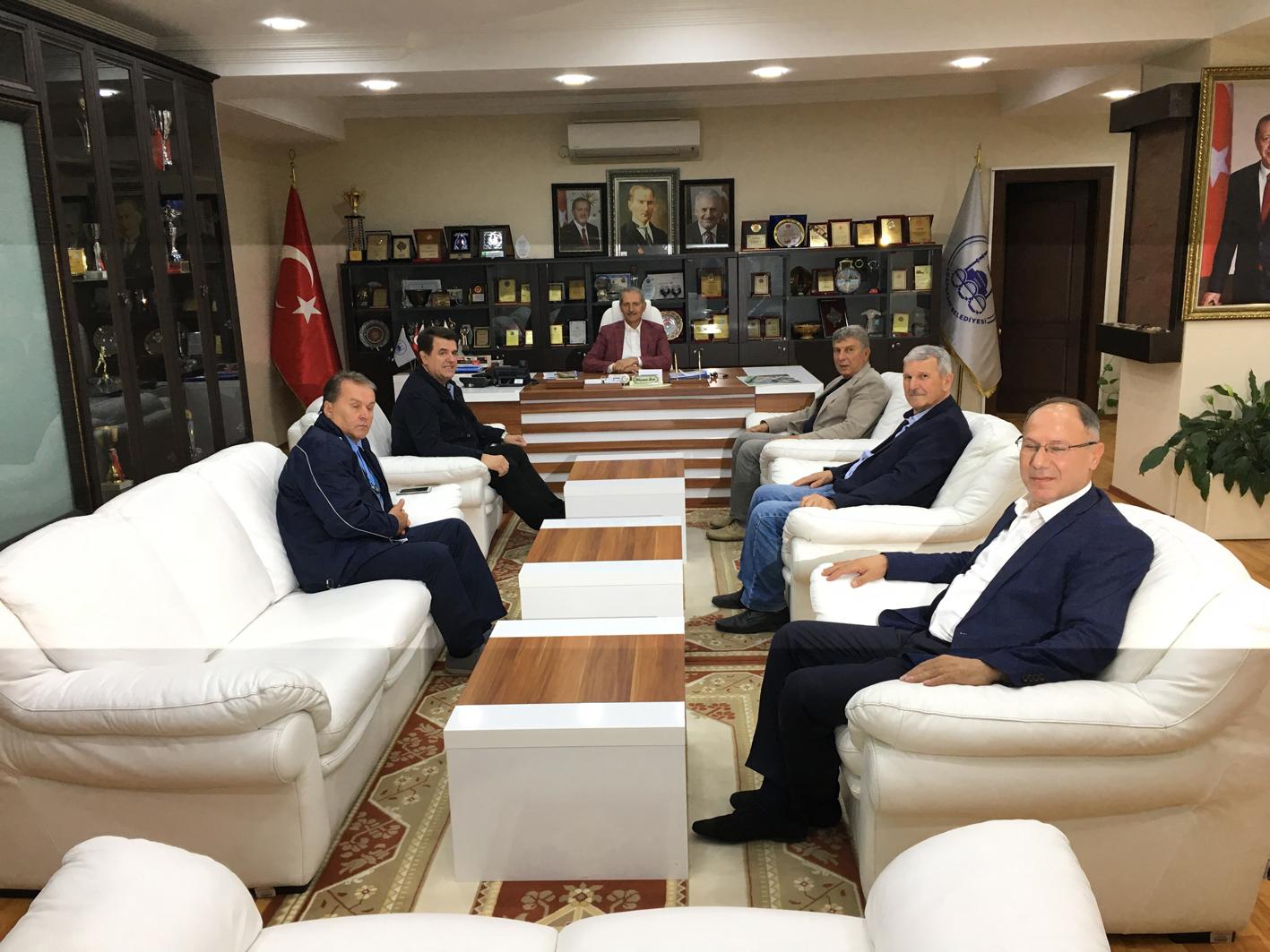 Bosnalı Başkan'dan Dişli'ye ziyaret