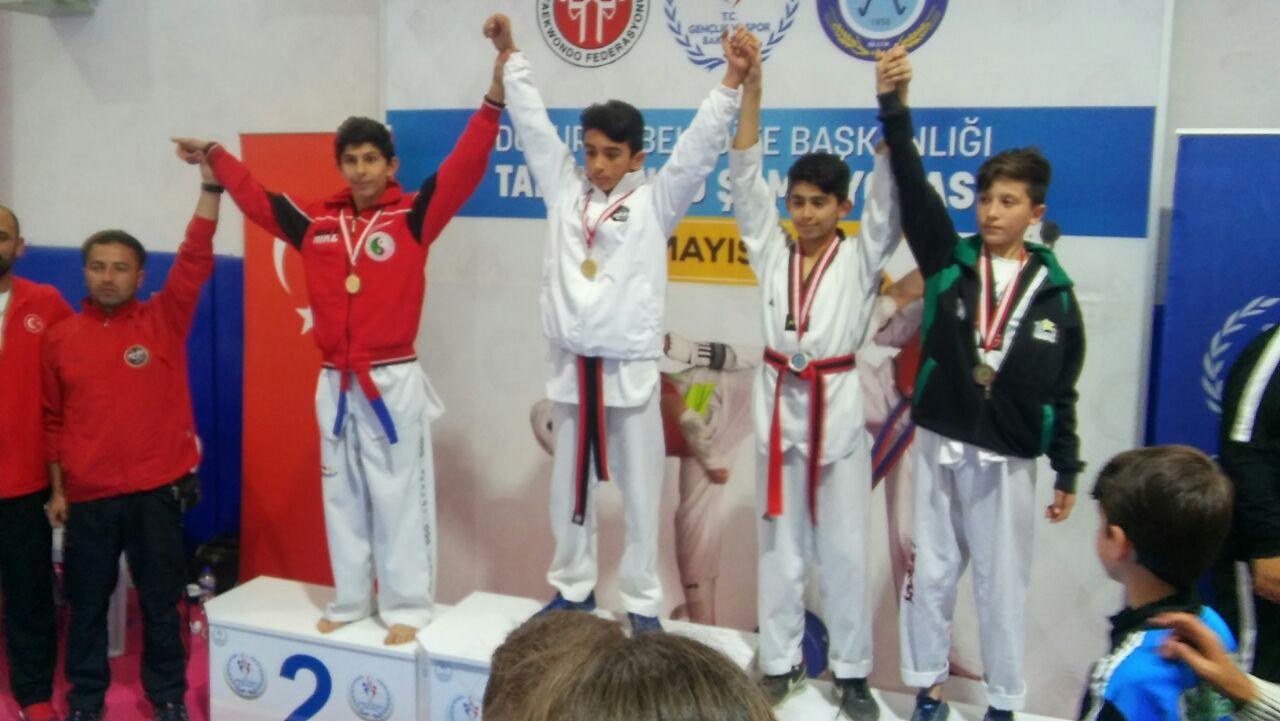 14 yaşındaki tekvandocunun hedefi Avrupa ve Dünya birinciliği