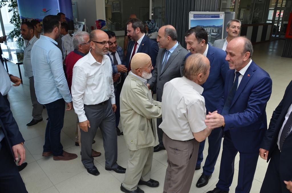 Erenler Belediyesi Bayramlaşma Programı yapıldı