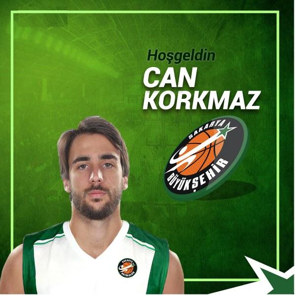 Can Korkmaz Büyükşehir Basketbol 'da