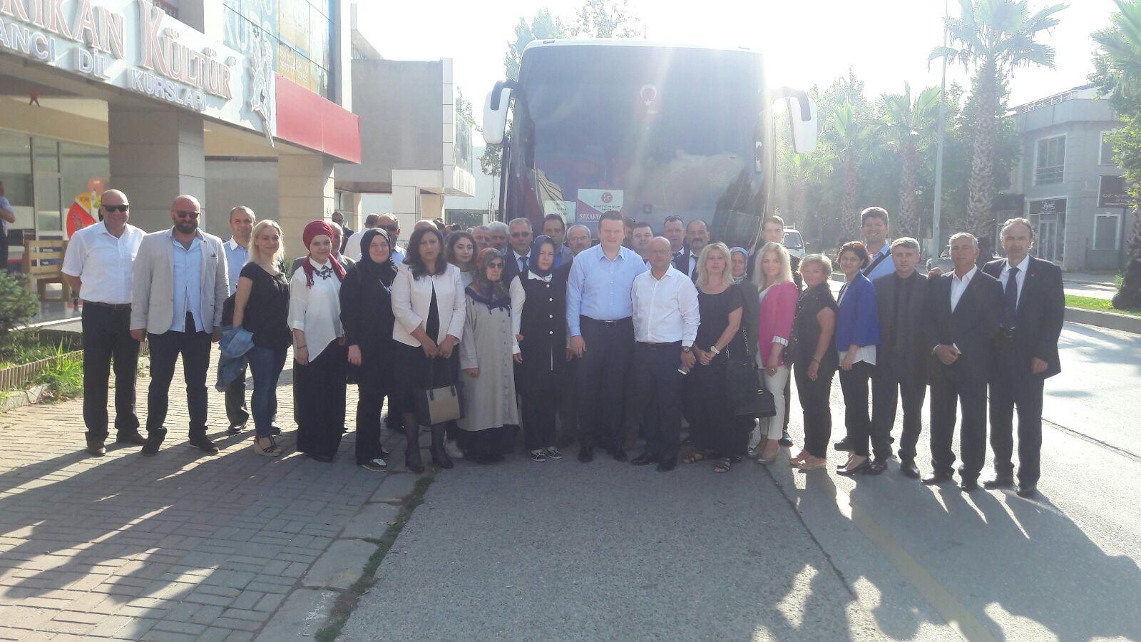 Sakarya'lı MHP'liler Ankara Yolunda