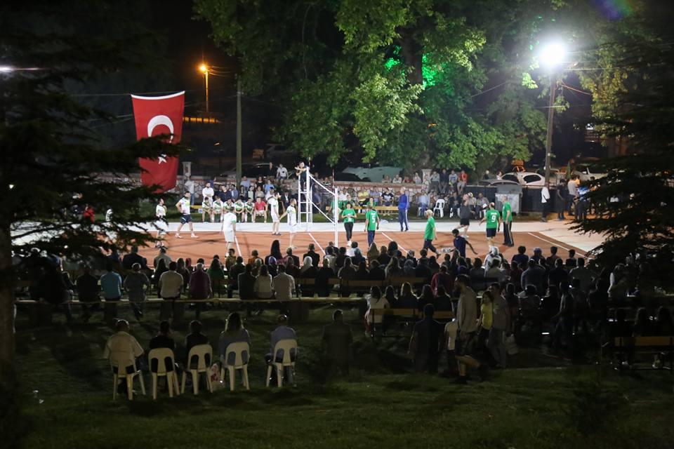Abhaz - Adige voleybol turnuvasında bu gece final gecesi