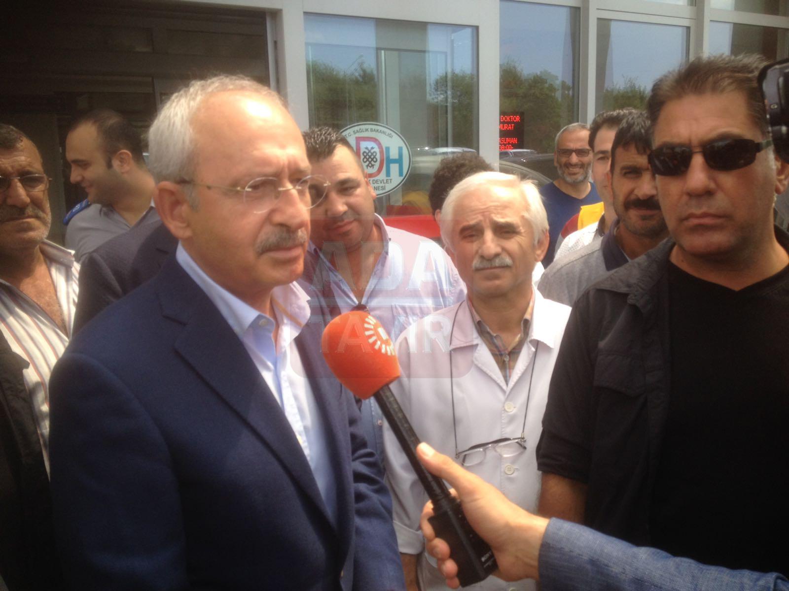Kılıçdaroğlu kazazede gence söz verdi (7)