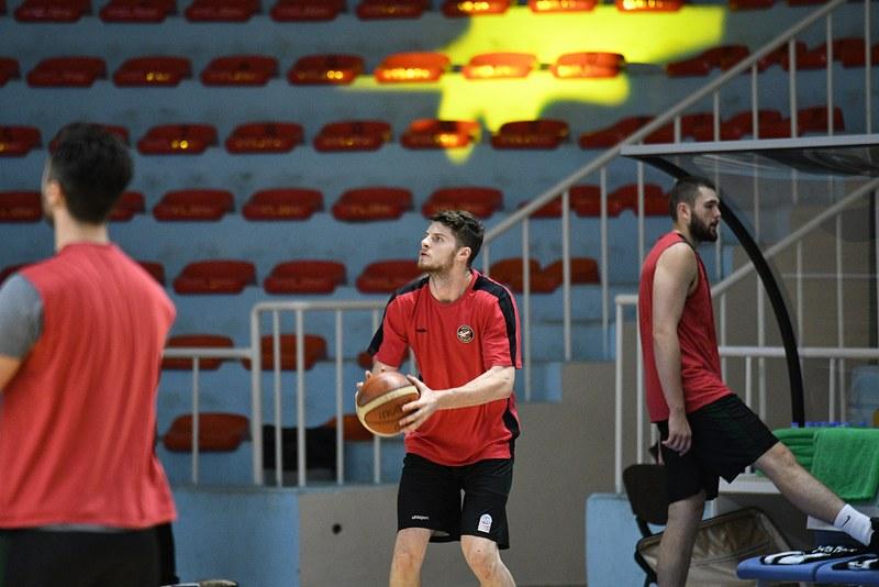 Büyükşehir Basket Trabzonspor maçına hazır