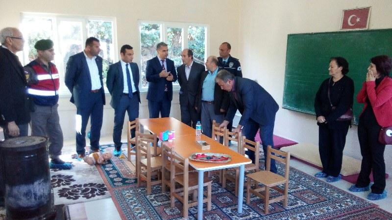 Paşalarda Anaokulu törenle açıldı