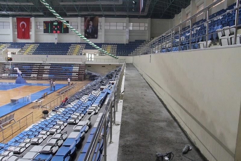 Spor salonu maça yetişecek
