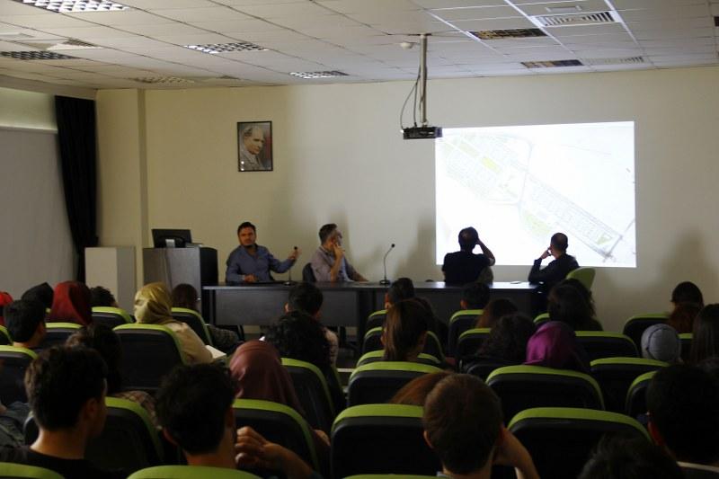 Yarışma yolunda mimarlık semineri