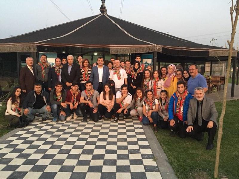 Kıbrıslı öğrenciler Sakarya'da