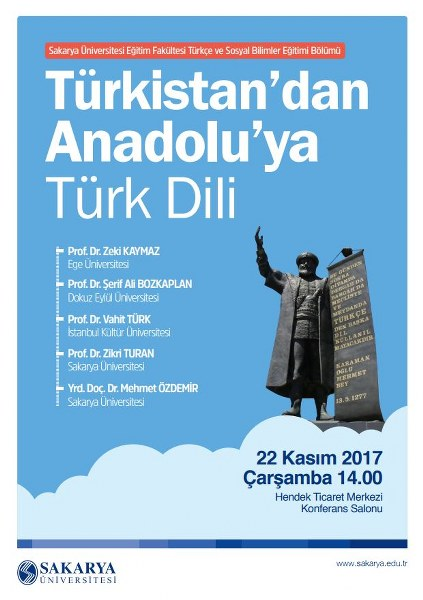 SAÜ' de Türk Dili konferansı düzenlenecek