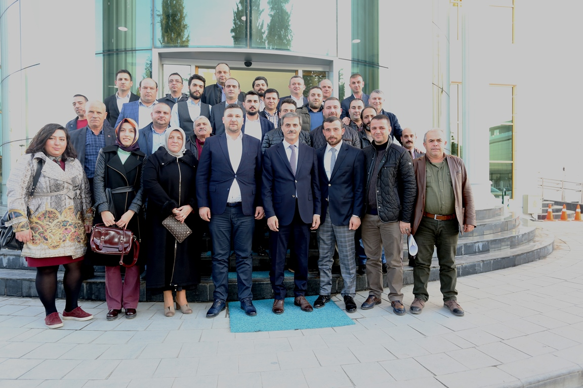 Yeni Başkan'dan Alemdar'a ziyaret