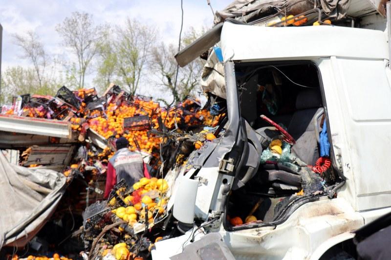 Arifiye'de zincirleme kaza: 4 yaralı |